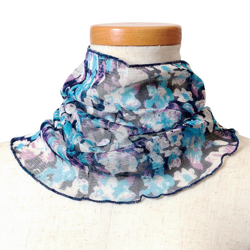 ネックカバー シルク100% UV対策
